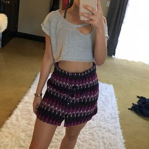 Free People Woven Skirt